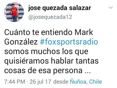 Captura | @josequezada12 / Twitter