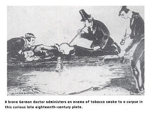 Enema de tabaco