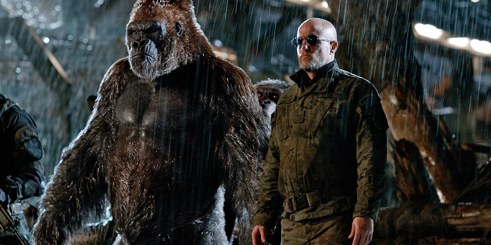 Woody Harrelson en El Planeta de los Simios