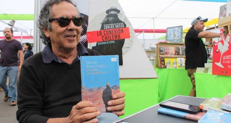 Escritor Hernán Rivera Letelier lanza en FILZIC su última novela