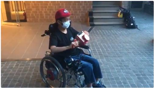 Inventor japonés utiliza Nintendo Labo para controlar silla de ruedas