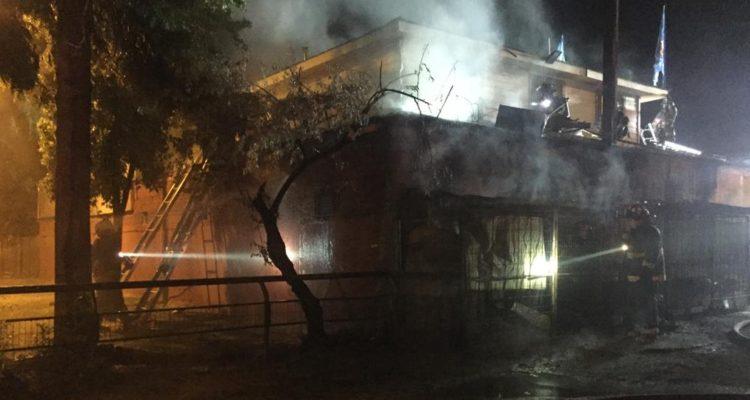 Dueño de panadería resultó con lesiones tras incendio en su local en La Florida