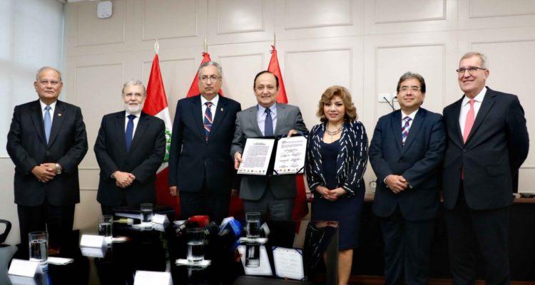 OAS firma acuerdo de colaboración con Fiscalía de Perú por casos de corrupción