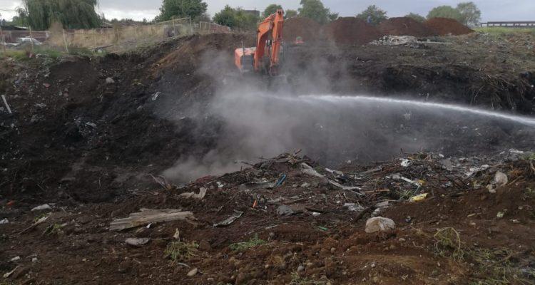 EFE presenta querella contra responsables de incendio en vertedero ilegal de Osorno