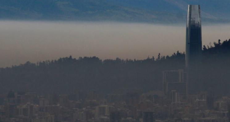 Decretan primera alerta ambiental del año para este jueves en la región Metropolitana