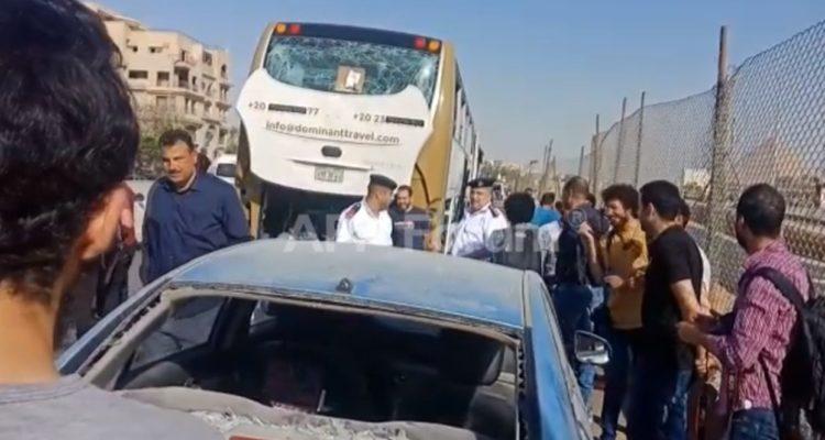 Atentado cerca de las pirámides contra turistas deja al menos 17 heridos