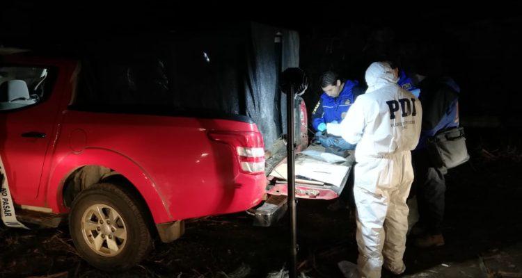 Investigan si camioneta hallada en un río de Ercilla se utilizó en ataque armado a retén en Curaco