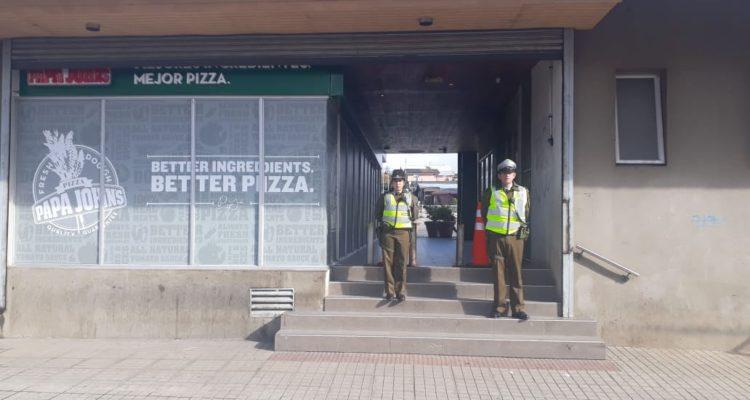 Detienen a hombre que realizó el falso aviso de bomba en un supermercado de Osorno