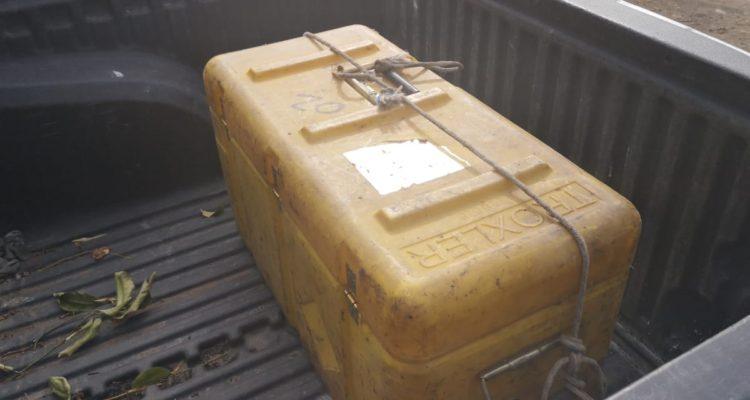 Encuentran densímetro nuclear en Puente Alto: había sido robado hace dos meses