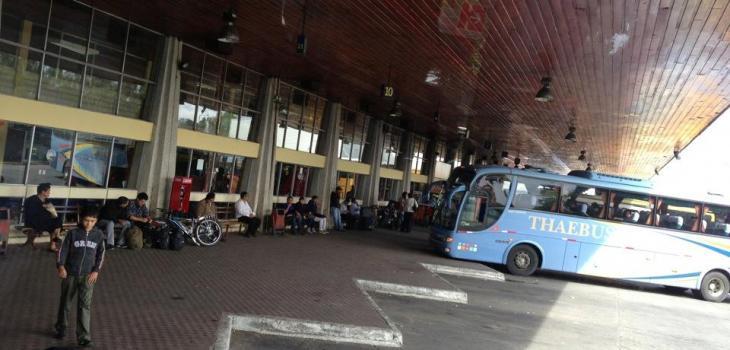 Inician trabajos de reparación del acceso a Terminal de Buses de Osorno