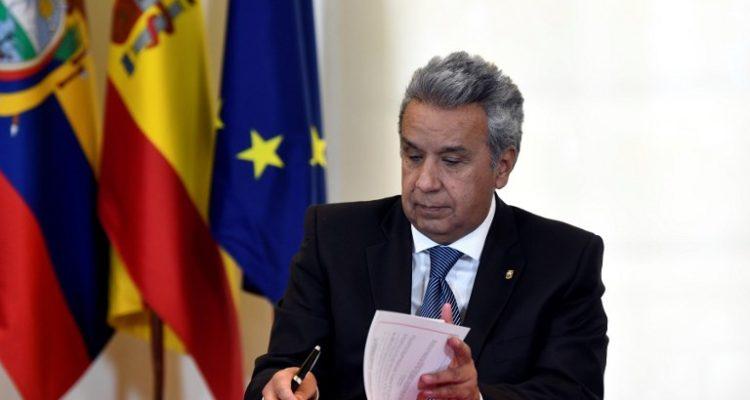 Presidente de Ecuador espera repuntar economía y buscará inversionistas en Francia, Italia y Holanda