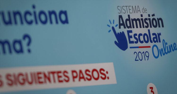 Este lunes debuta en la región Metropolitana el Sistema de Admisión Escolar