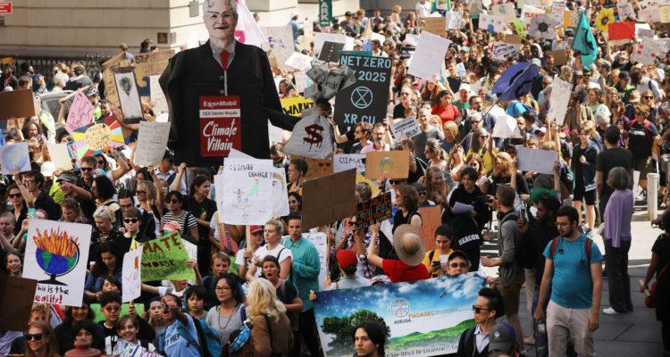 Greta Thunberg espera que huelgas climáticas sean un