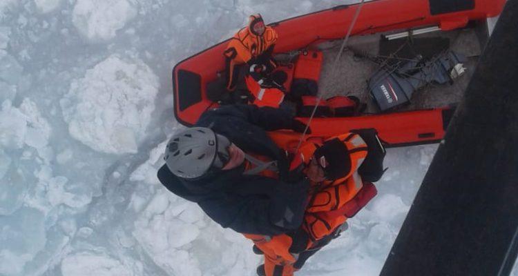 Rescate en la Antártica: barco polaco quedó a la deriva cerca de la Antártica