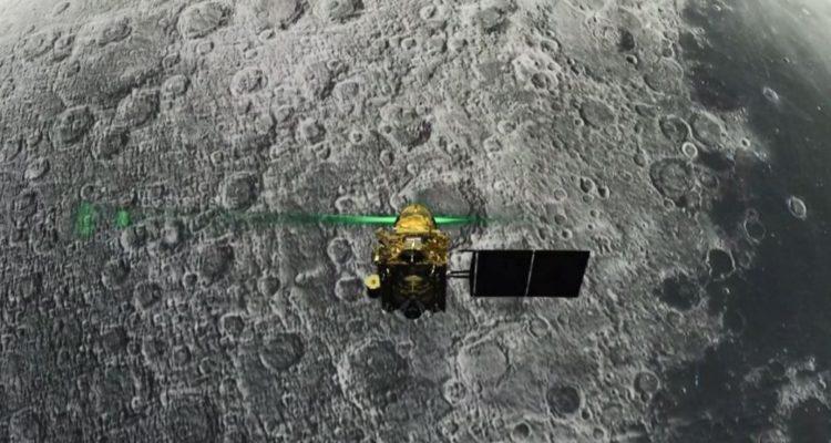 India pierde contacto con la sonda que intentaba posarse en la Luna