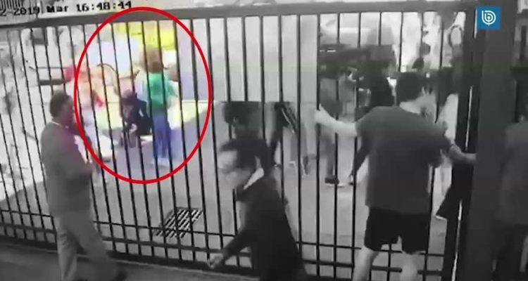 Camarógrafo recibe disparo de balín de Carabineros en su ojo durante saqueo en Chiguayante