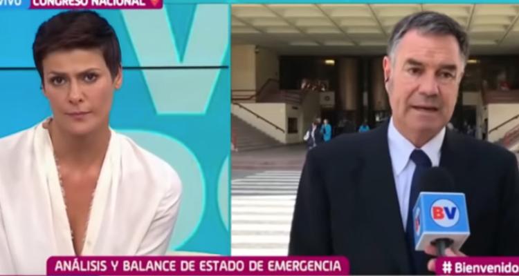 Ossandón afirma que quienes quemaron estaciones del Metro se organizaron a través de los videojuegos