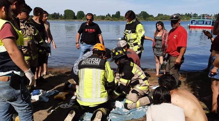 Hombre falleció en el balneario de la Laguna Avendaño en Quillón