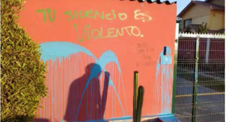 Manifestación termina con ataque a la casa del alcalde de La Serena mientras estaba con su familia