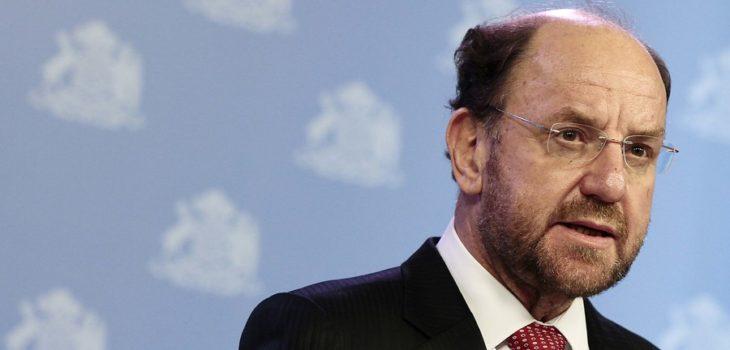 Ministro Moreno y crisis hídrica en Santiago: