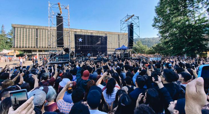 De vuelta en casa: Los Bunkers regresan a la escena y convocan más de 20 mil personas en Concepción