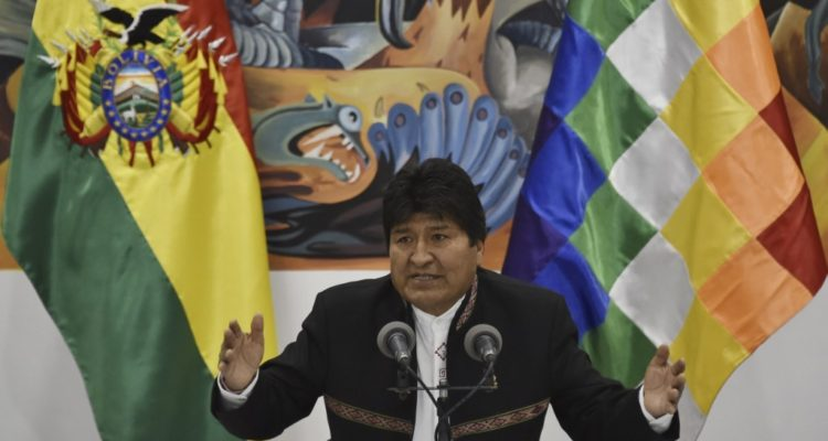 Opositores a Evo Morales rechazan su candidatura a senador en Bolivia