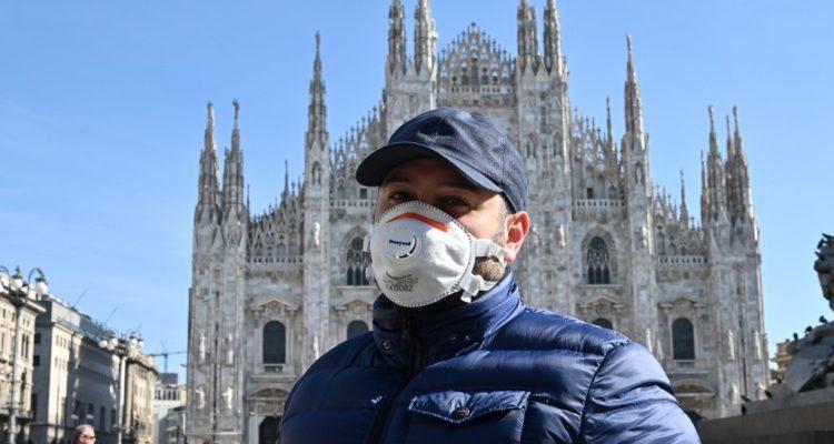 Italia blinda cinco regiones del norte tras muerte de 6 personas por propagación del coronavirus