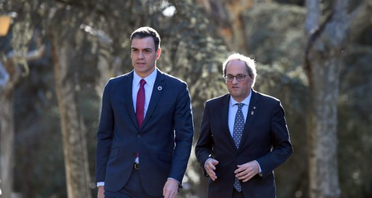 Gobierno de España inicia negociación con independentistas catalanes