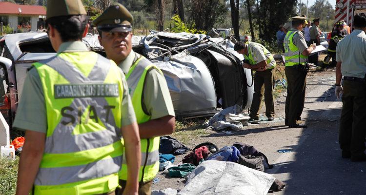 Joven muere en colisión frontal de automóvil con camión en ruta Galvarino a Chol Chol
