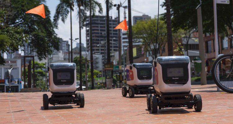 Rappi comienza prueba de entregas con robots: por ahora sólo en Colombia