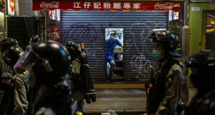 Miles de manifestantes se reunieron en Hong Kong contra proyecto de ley chino sobre seguridad