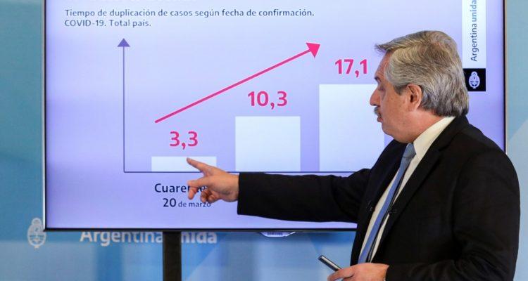 Presidente Fernández ocupa nuevamente a Chile de ejemplo con cifras erróneas de muertes por Covid-19