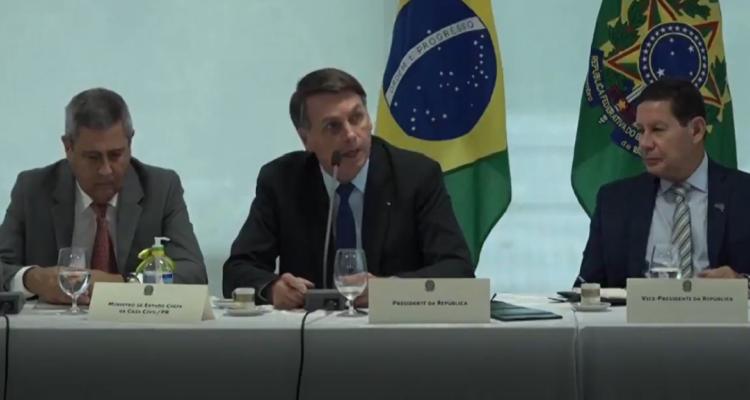 Nueva polémica de Bolsonaro: difunden video con amenazantes declaraciones contra la policía