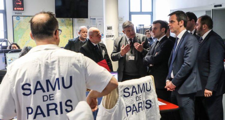 Macron se da siete semanas para refundar el sistema de salud tras crisis por coronavirus