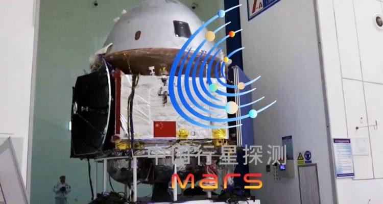 China planea lanzar en julio su primera sonda hacia Marte