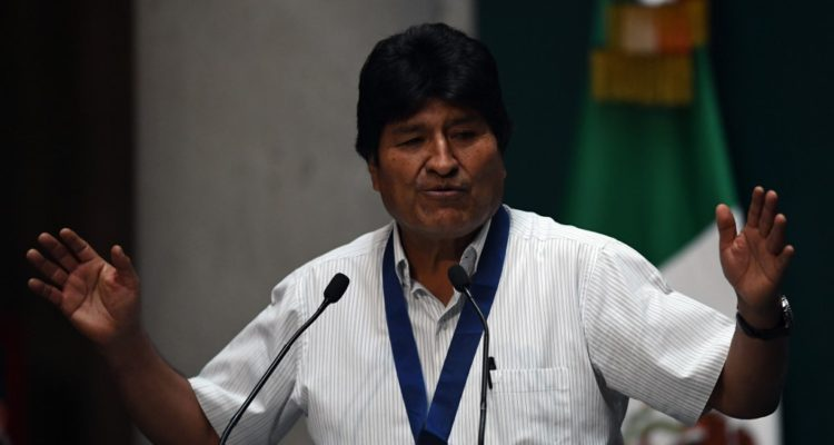 Evo Morales acusa una