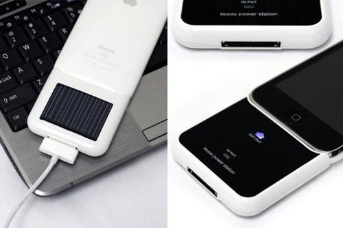 Cargador solar para iPod