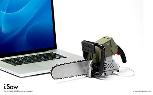Motosierra USB