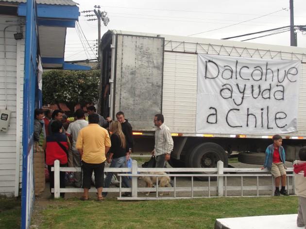 Dalcahue ayuda a Chile | ElDalcahuino.com