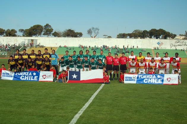 Fútbol solidario en la Región de Valparaíso | Alejandro Varas