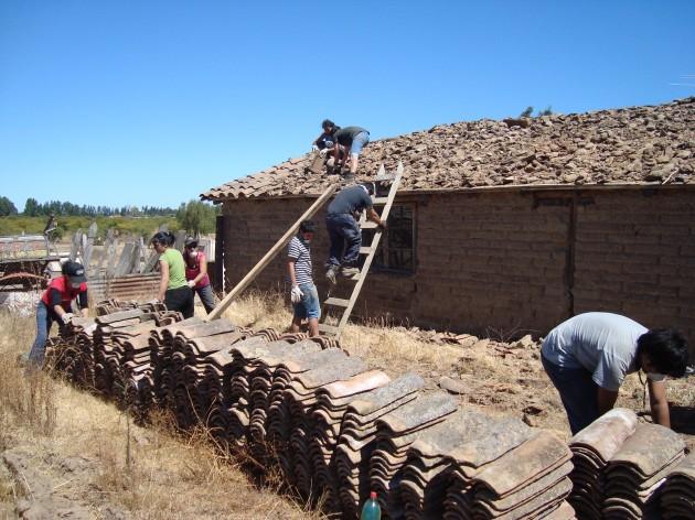 Organizando la reconstrucción en Nilahue Cornejo | Patsy Zamorano