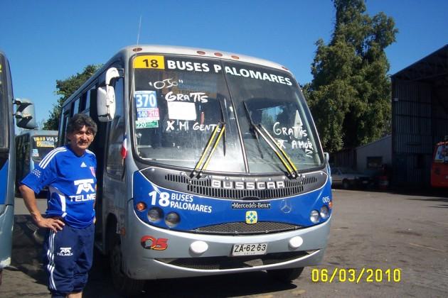 Buses de Chiguayante llevan gratis a pasajeros | Pablo Martínez