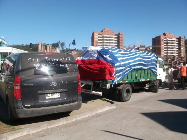 Vecinos de San Pedro de la Paz ayudan a Talcahuano | Cecilia Chirino