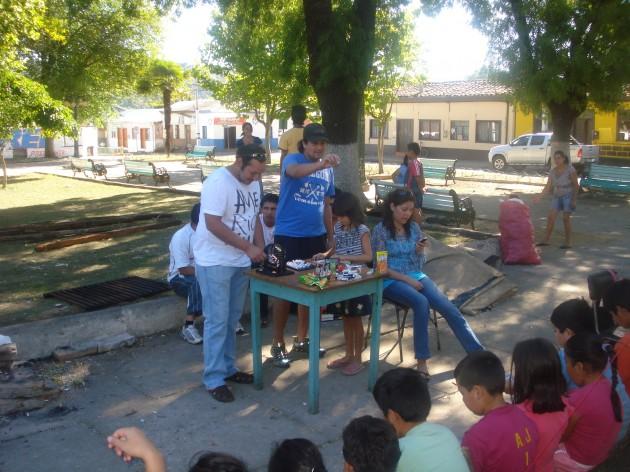 Un momento de alegría en San Rosendo | Fabiola Zapata