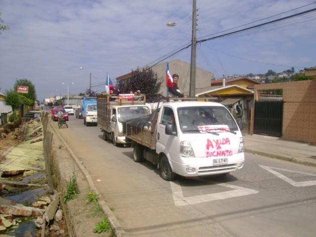 Ayuda para Dichato desde Trehuaco | Leonardo Vera