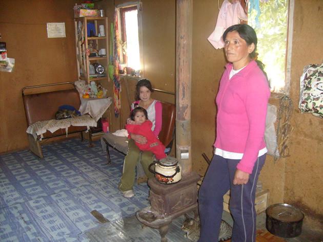 Familia de Natividad Rojas | Foto de Mauricio Alarcón