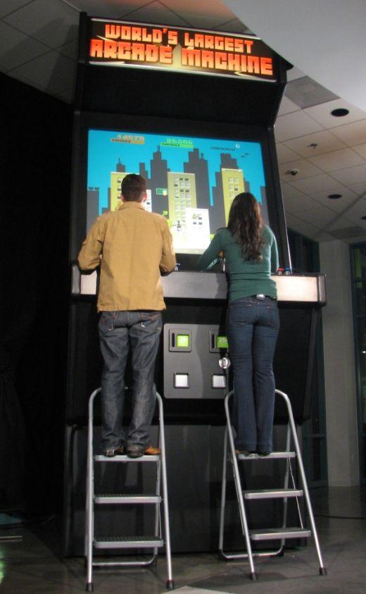 Arcade más grande del mundo | EGamers