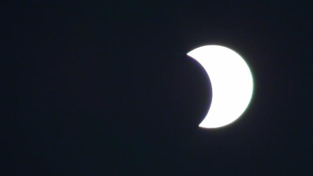 Eclipse en Viña del Mar 16:46 | José Serazzi