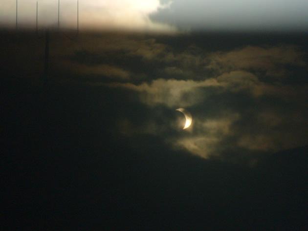 Eclipse en Puerto Montt | Ricardo Vargas