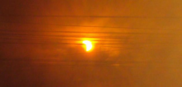 Eclipse en Valdivia 16:36 | Fernando Flores